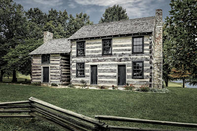 Photograph - Lincoln Heritage House Elizabethtown Kentucky  -  Lincabde14 by Frank J Benz