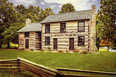 Photograph - Lincoln Heritage House Elizabethtown Kentucky  -  Lincabtex by Frank J Benz