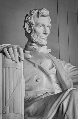 Politicians Royalty-Free and Rights-Managed Images - Lincoln Memorial 2 by Frank Mari