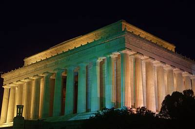 Photograph - Lincoln Memorial At Night by Buddy Scott