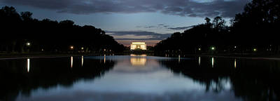 Photograph - Lincoln Memorial At Twilight by Colleen Joy