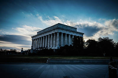 Photograph - Lincoln Memorial by Bill Howard