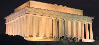 Photograph - Lincoln Memorial by Charles HALL