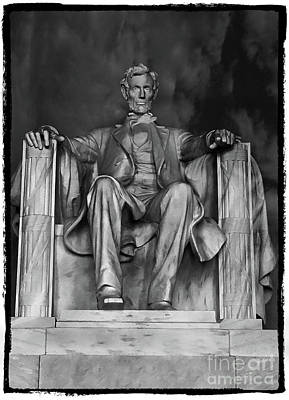 Photograph - Lincoln Memorial by Doc Braham