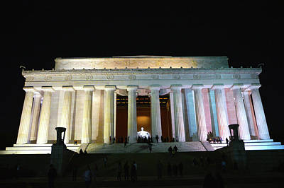 Photograph - Lincoln Memorial - From Reflecting Pool by Brian O'Kelly