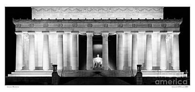 Gregory Ohanlon Photograph - Lincoln Memorial by Gregory Ohanlon