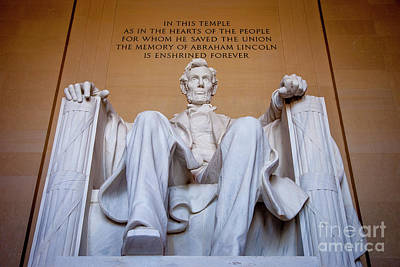 Politicians Royalty-Free and Rights-Managed Images - Lincoln Memorial II by Brian Jannsen