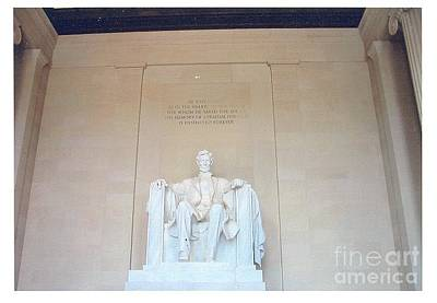 Photograph - Lincoln Memorial by Kevin Croitz