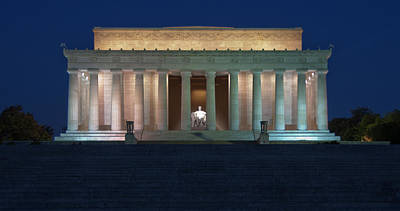 Photograph - Lincoln Memorial by Kevin Pate