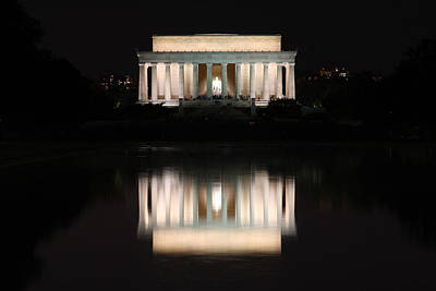 Photograph - Lincoln Memorial by Nancy Ingersoll
