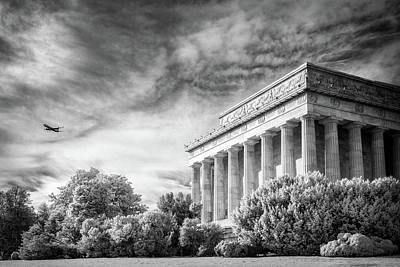 Photograph - Lincoln Memorial by Paul Seymour