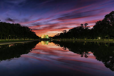Photograph - Lincoln Memorial by Scott Masterton