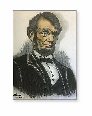 Drawing - Lincoln  by Mimi Eskenazi