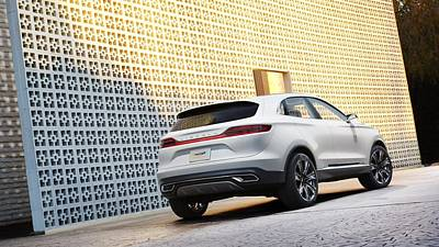Car Digital Art - Lincoln Mkc Concept by Super Lovely