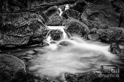 Photograph - Lincoln Nh Flowing River  by Mike Ste Marie