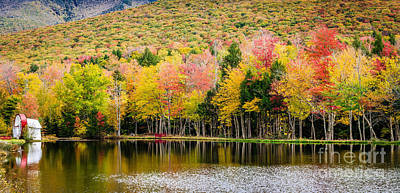 Photograph - Lincoln Nh Foliage by Mike Ste Marie