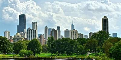 Photograph - Lincoln Park Pano  by Frozen in Time Fine Art Photography