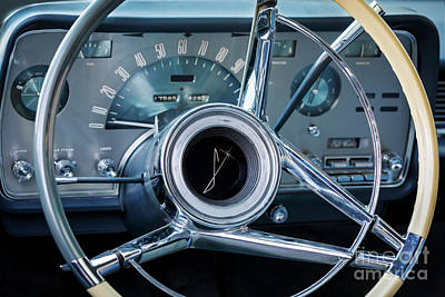 Photograph - Lincoln Steering And Dash by Dennis Hedberg