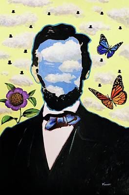 Painting - Lincoln by Venus