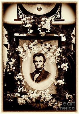 Photograph - Lincoln's Funeral Train - Portrait by Paul W Faust - Impressions of Light