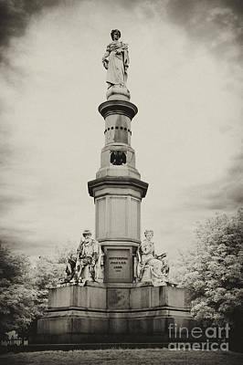Photograph - Lincolns Gettysburg Address Site - Toned by Paul W Faust -  Impressions of Light