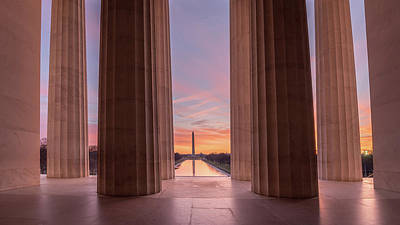 Photograph - Lincolns View by Michael Donahue