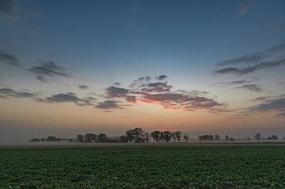 Photograph - Lincolnshire Sunset by Gary Eason