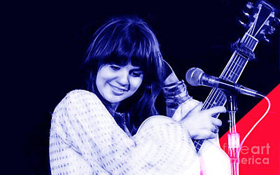 Musician Mixed Media - Linda Ronstadt Collection by Marvin Blaine