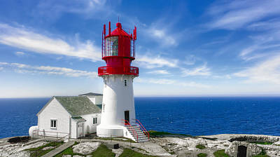 Lindesnes Lighthouse - Norway's Oldest Art Print