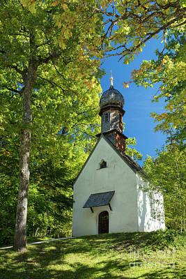 Photograph - Linderhof Chapel by Brian Jannsen