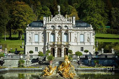 Photograph - Linderhof Palace by Brian Jannsen