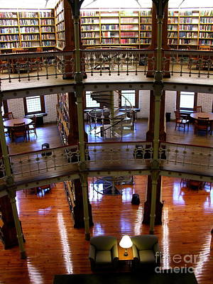 Photograph - Linderman Library Lehigh University by Jacqueline M Lewis