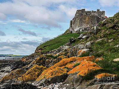 Photograph - Lindisfarne Castle Holy Island by Lexa Harpell