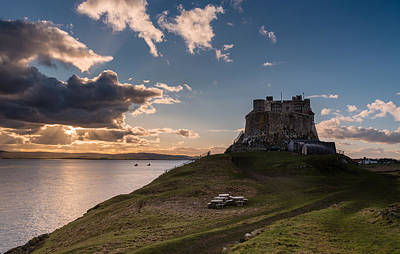 Target Threshold Nature Royalty Free Images - Lindisfarne Castle late afternoon Royalty-Free Image by David Head