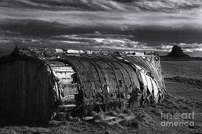 Castle Photograph - Lindisfarne Castle by Nichola Denny