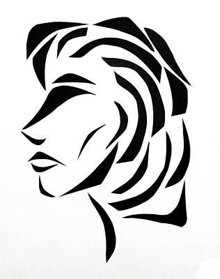 Lindsay Art Print by Delin Colon