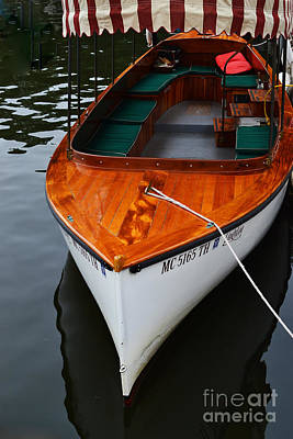 Photograph - Lindy Lou Wood Boat by Amy Lucid