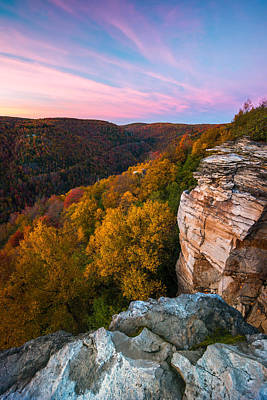 Photograph - Lindy Point Overlook Fall Sunset by Rick Dunnuck