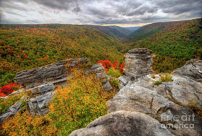 Photograph - Lindy Point West Virginia I by Karen Jorstad