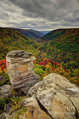 Photograph - Lindy Point West Virginia by Karen Jorstad