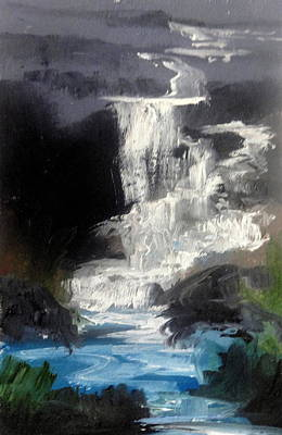 Painting - Lindy's Falls by Fred Wilson