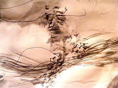 Painting - Line Dances by Nancy Kane Chapman