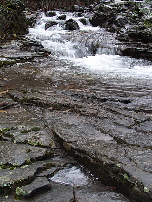 Photograph - Line In The Stone Of The Kaaterskill Creek by Terrance De Pietro
