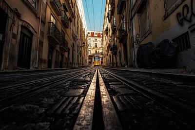 Photograph - Line by Jorge Maia