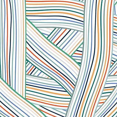 Digital Art - Line Pattern 1 by Gary Grayson