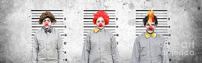 Sin Photograph - Line Up Of The Usual Suspects by Jorgo Photography - Wall Art Gallery