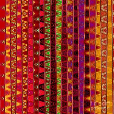 Digital Art - Line Waves by Susan Stevenson