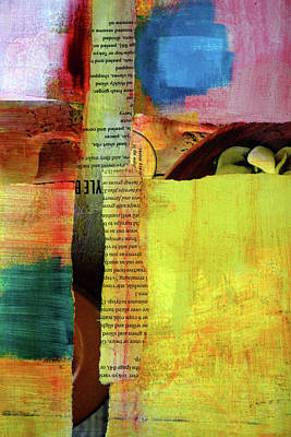 Mixed Media - Lineage Collage by Nancy Merkle