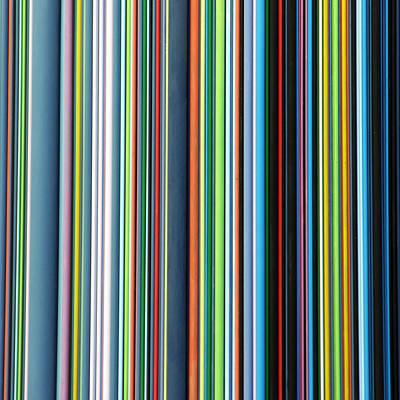 Linear Technicolor - 4 Of 4 Art Print