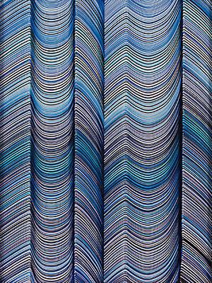Lineas No.9 Original by George Sanen